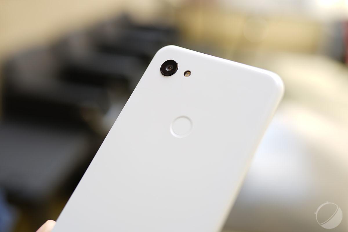 L'appareil photo du Google Pixel 3a XL