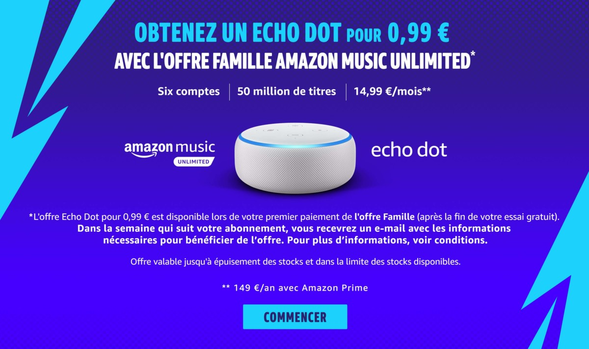 🔥 Good plan: an Echo Dot for $ 8.8 for every subscription to the