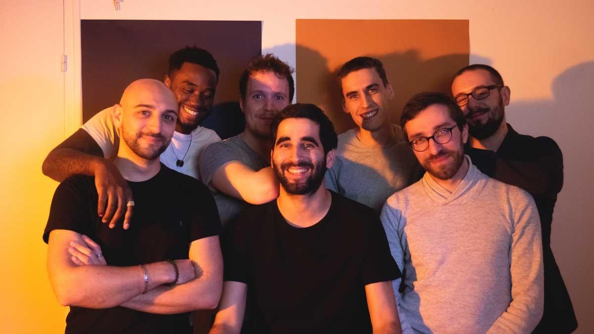 Une partie de l'équipe de Frandroid, début2019