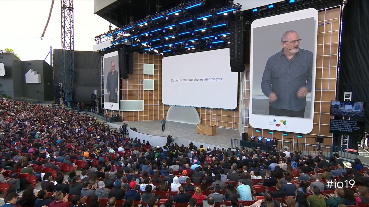 La conférence Google I/O 2019 en mai dernier.