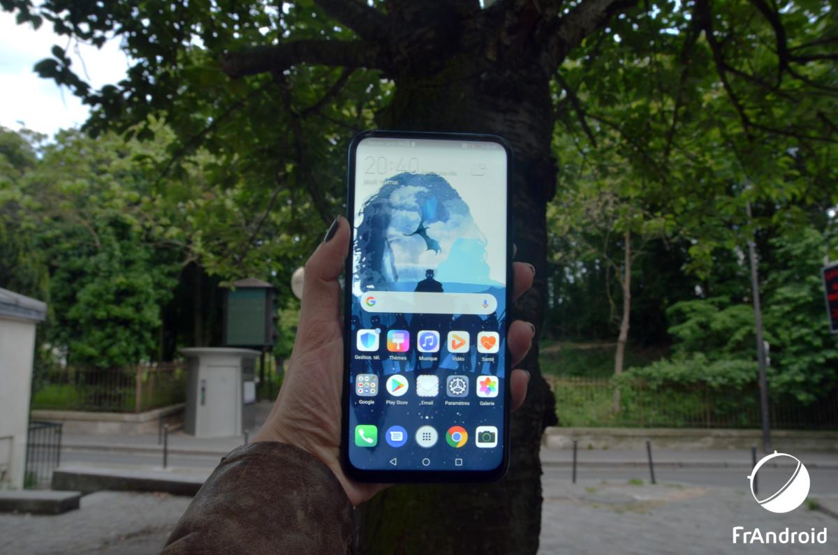 Face avant du Huawei P smart Z