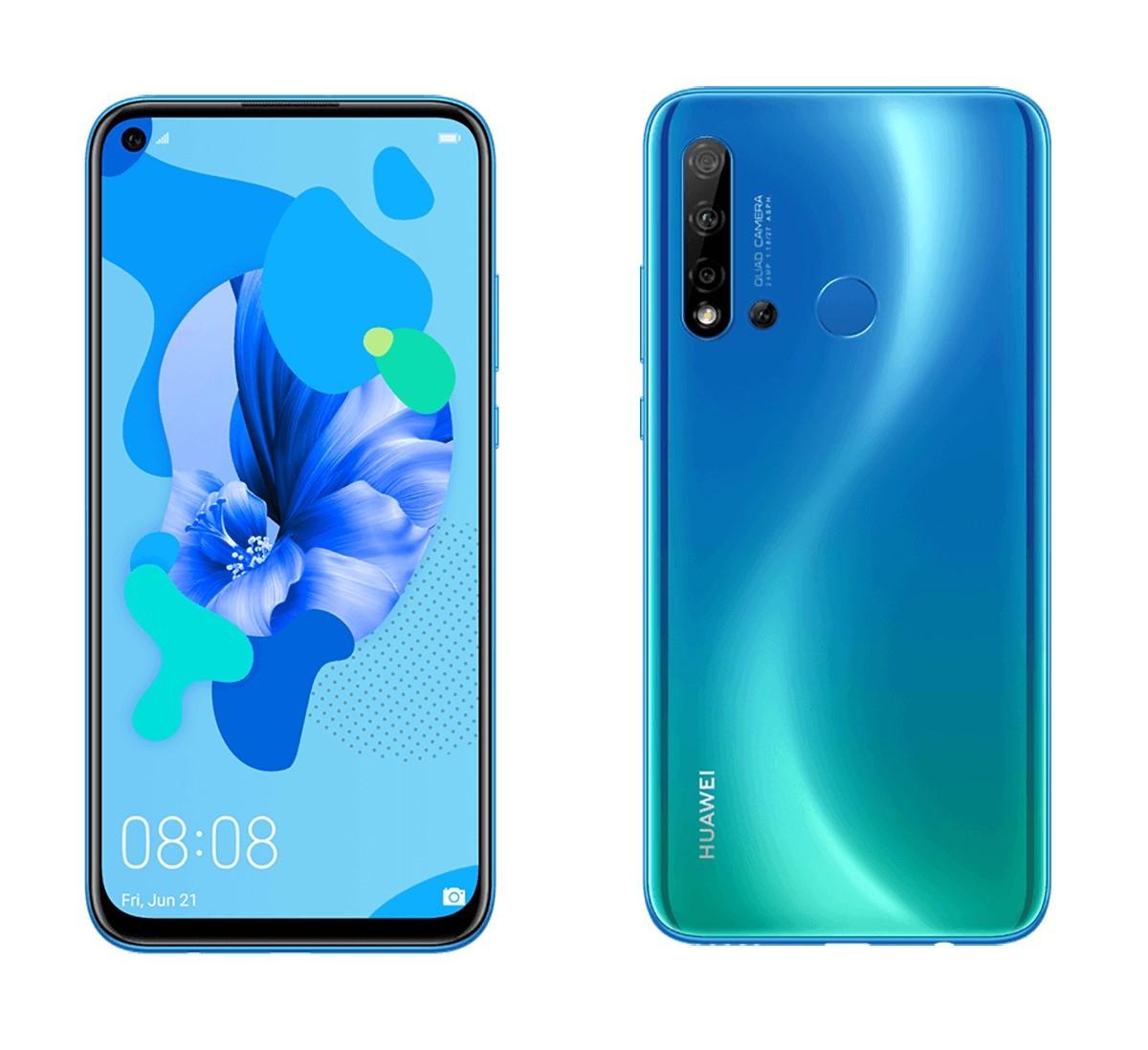 Un Huawei P20 Lite 2019 devrait bientôt être commercialisé. Le voici qui se montre dans quelques rendus avec un écran percé et un quadruple capteur photo à l'arrière.