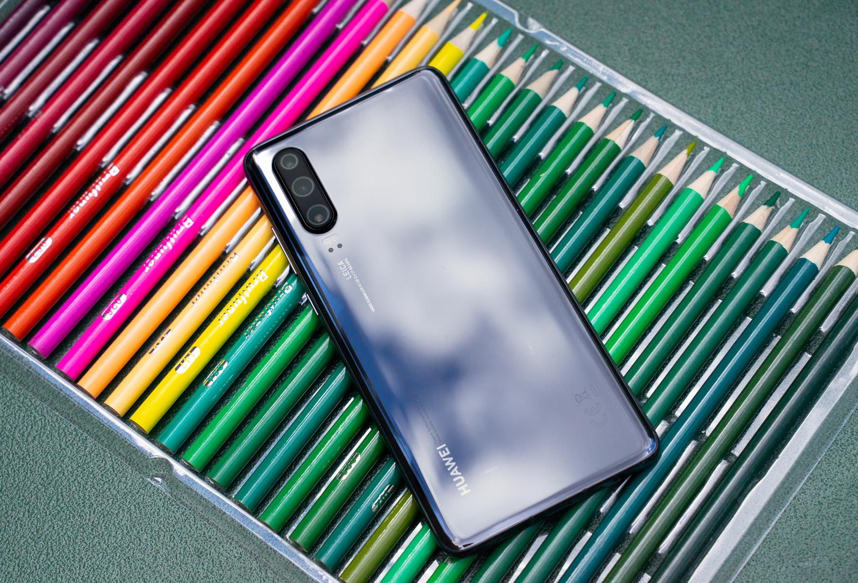 Huawei nie avoir baissé la production de ses smartphones