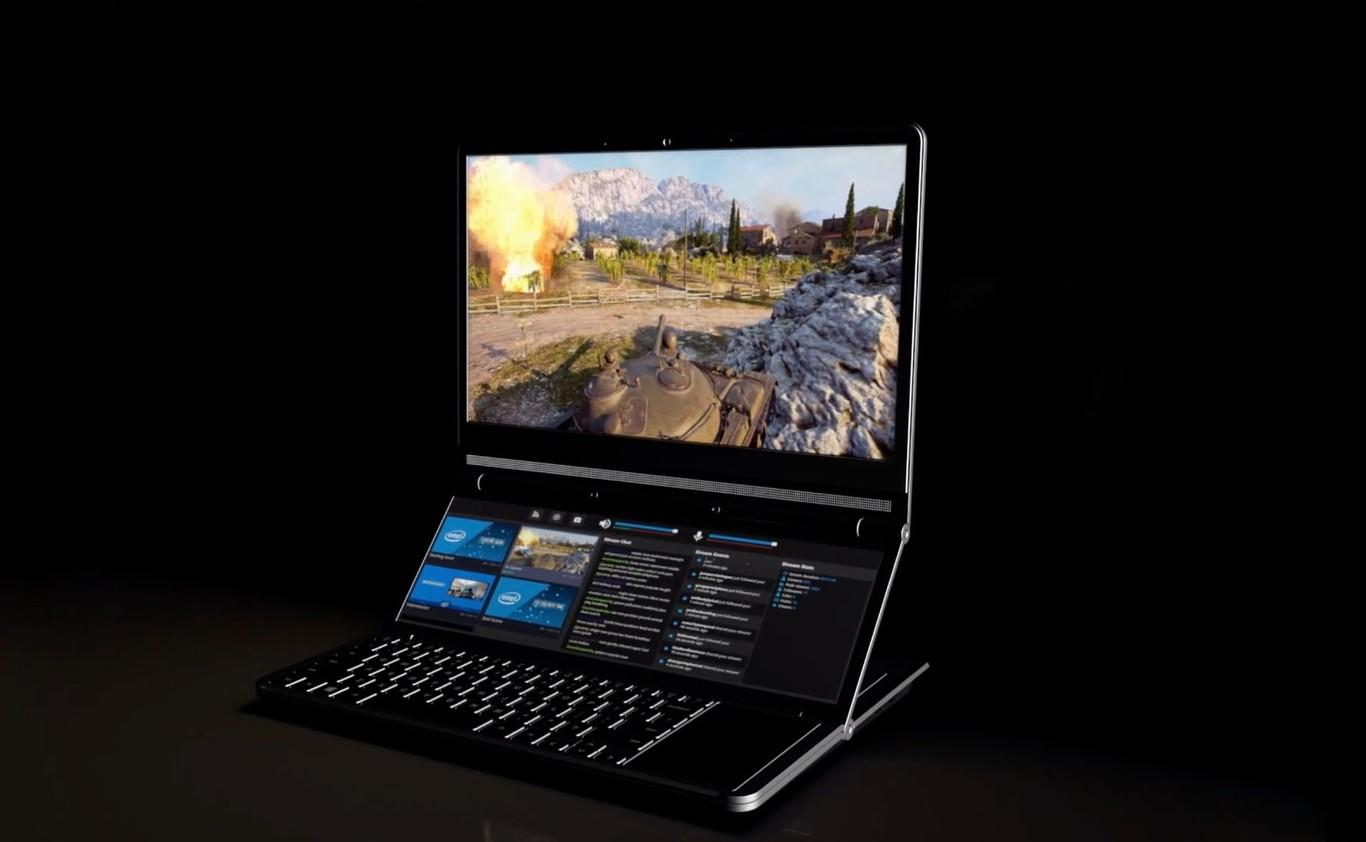 Intel multiplie les concepts de PC à double écran