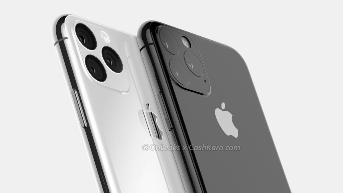 Rendu de l'iPhone Pro par OnLeaks et CashKaro