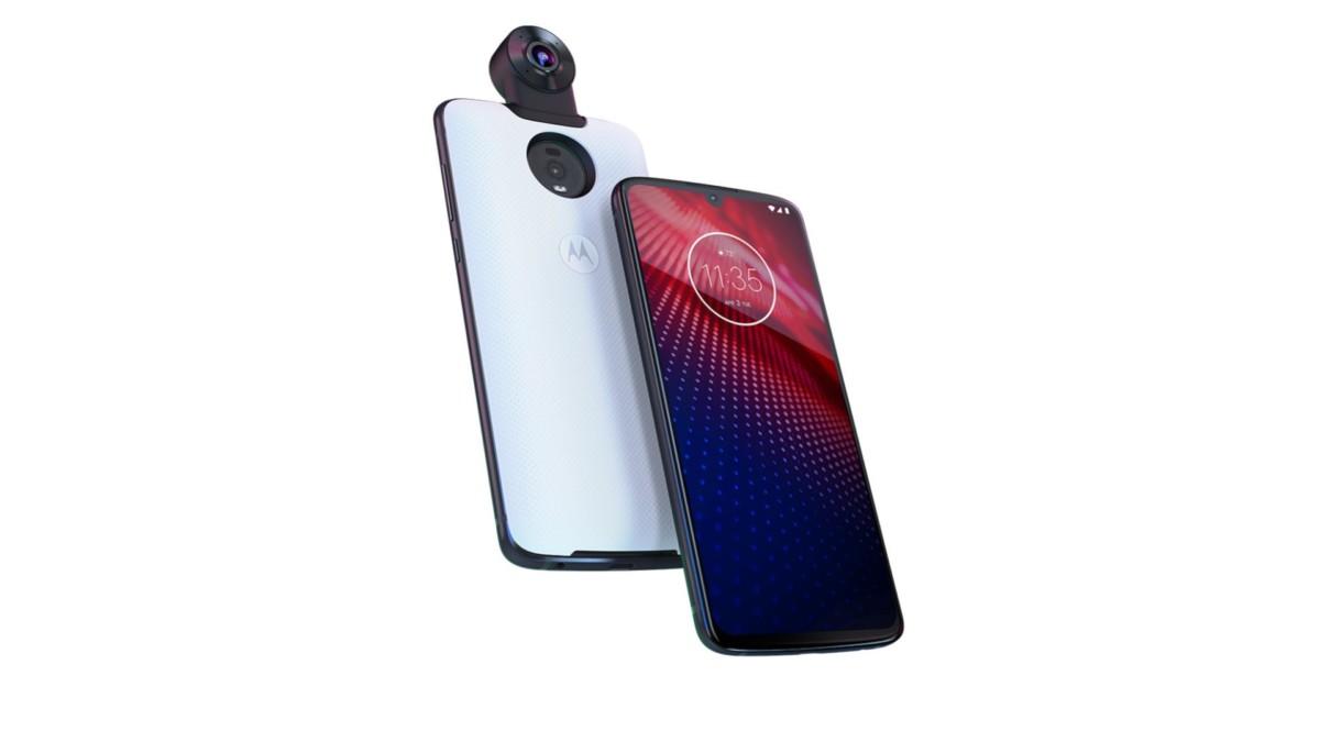 Motorola Moto Z4 officialisé : ouf, il a toujours les Moto Mods !
