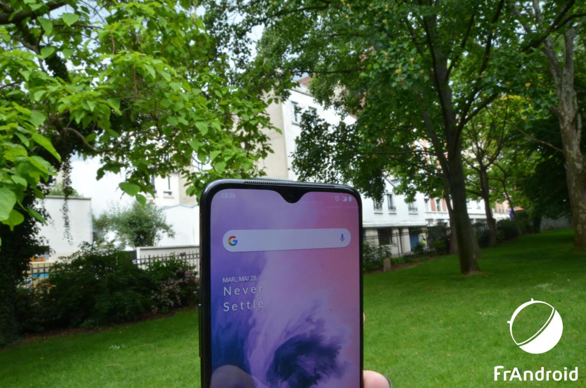 Encoche du OnePlus7