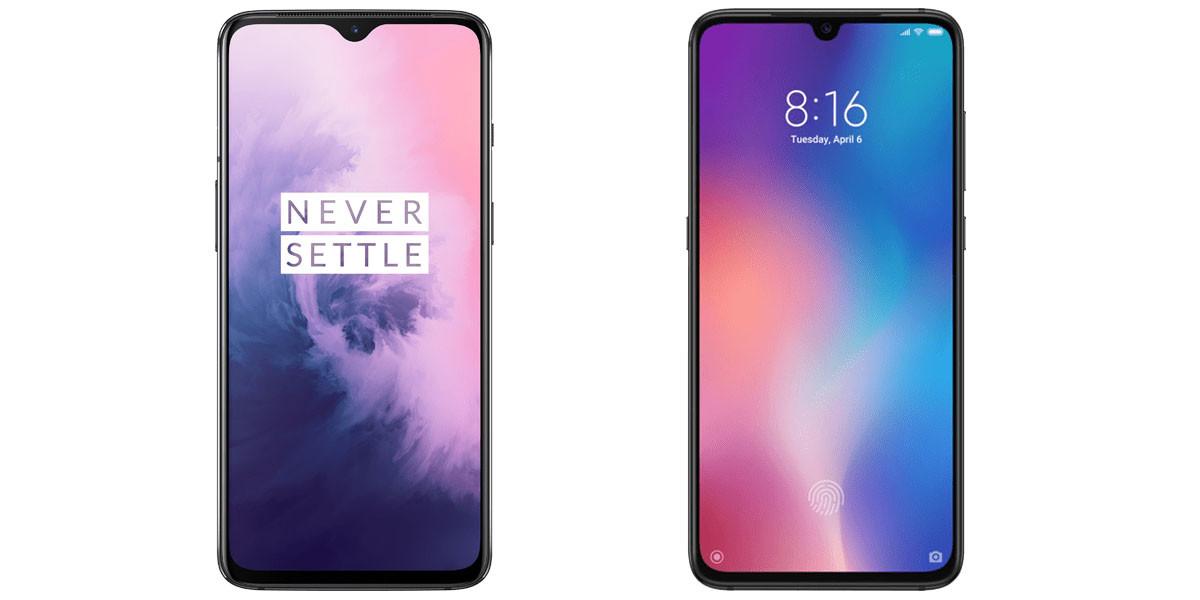 Quel smartphone faut-il préférer entre le OnePlus 7 et le Xiaomi Mi 9 ? Les deux smartphones offrent de jolies fiches techniques pour des tarifs qui n'avoisinent pas (trop) ceux des produits premium. Voici un petit comparatif pour vous aider à les départager.