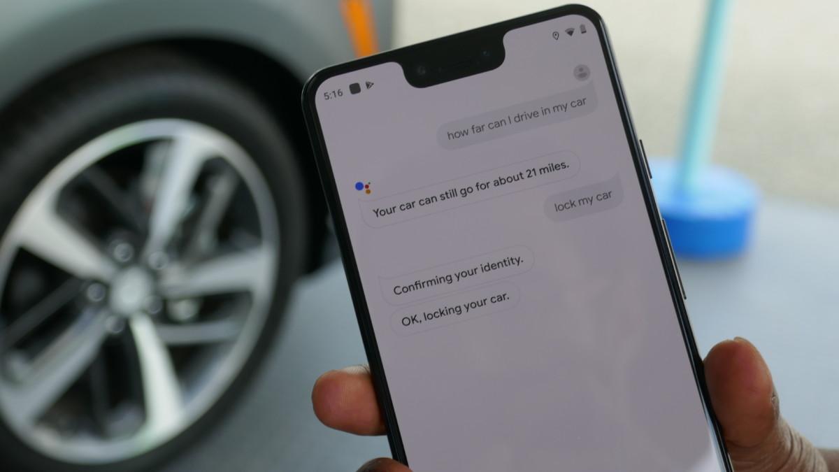 Un exemple de conversation sur Google Assistant