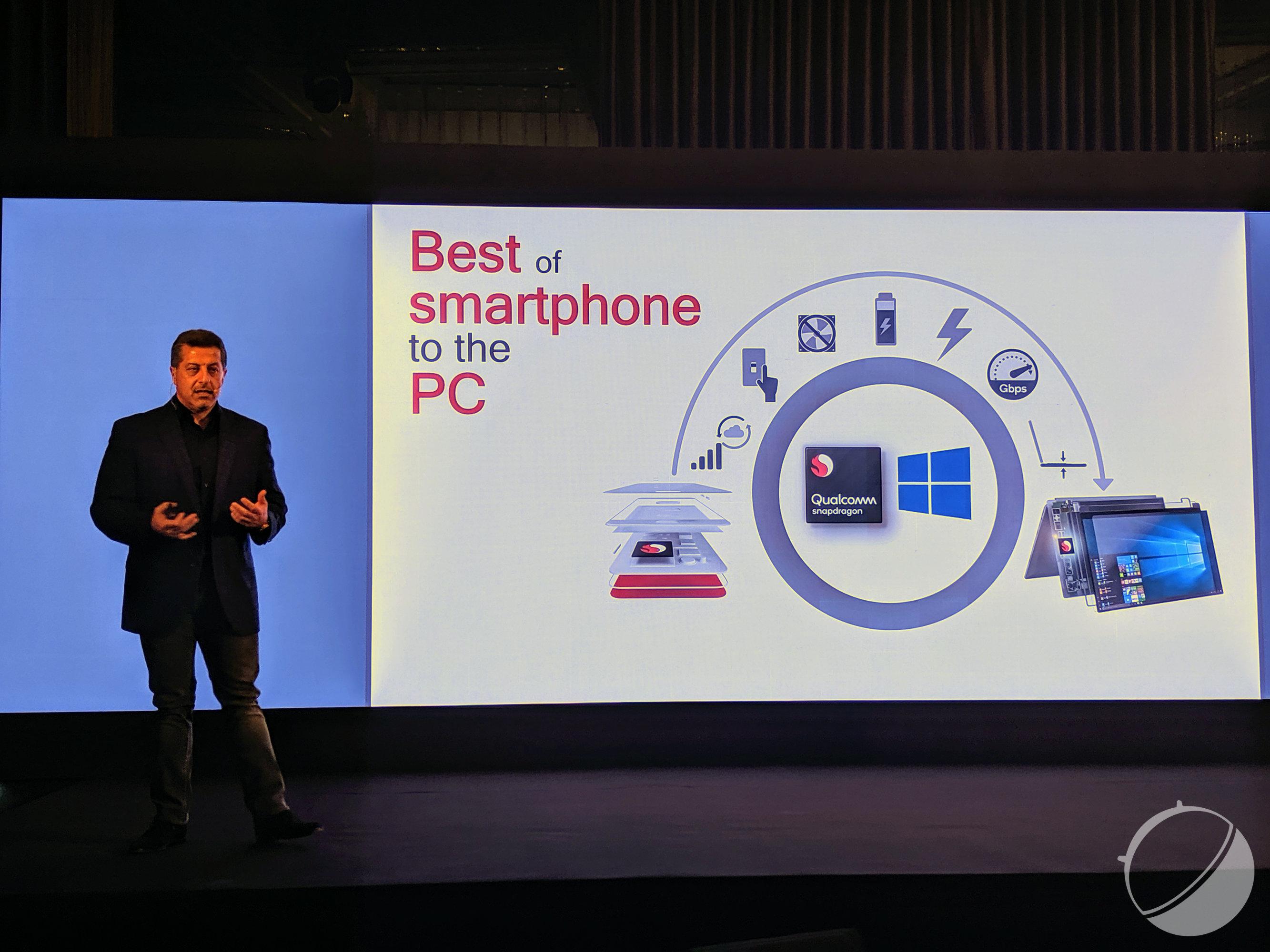 Avec le Snapdragon 8CX, Qualcomm veut dépasser les performances d'Intel
