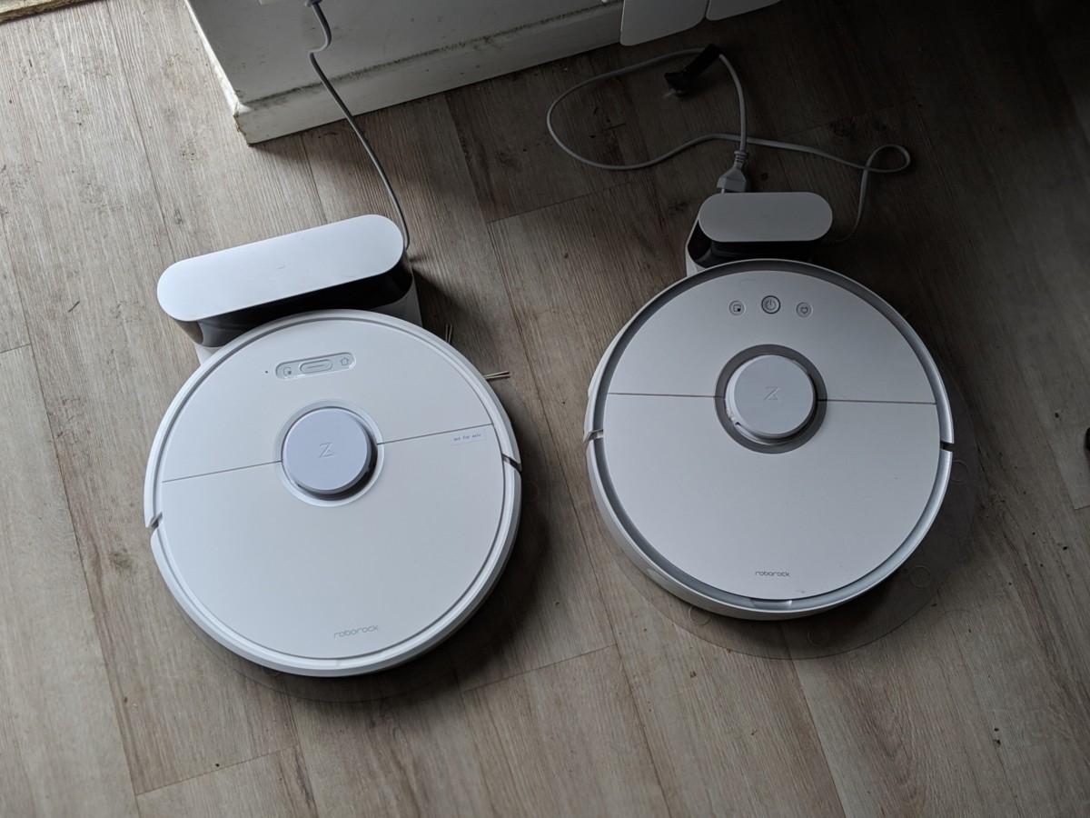 Le S6 à gauche, le S5 (deuxième génération) à droite