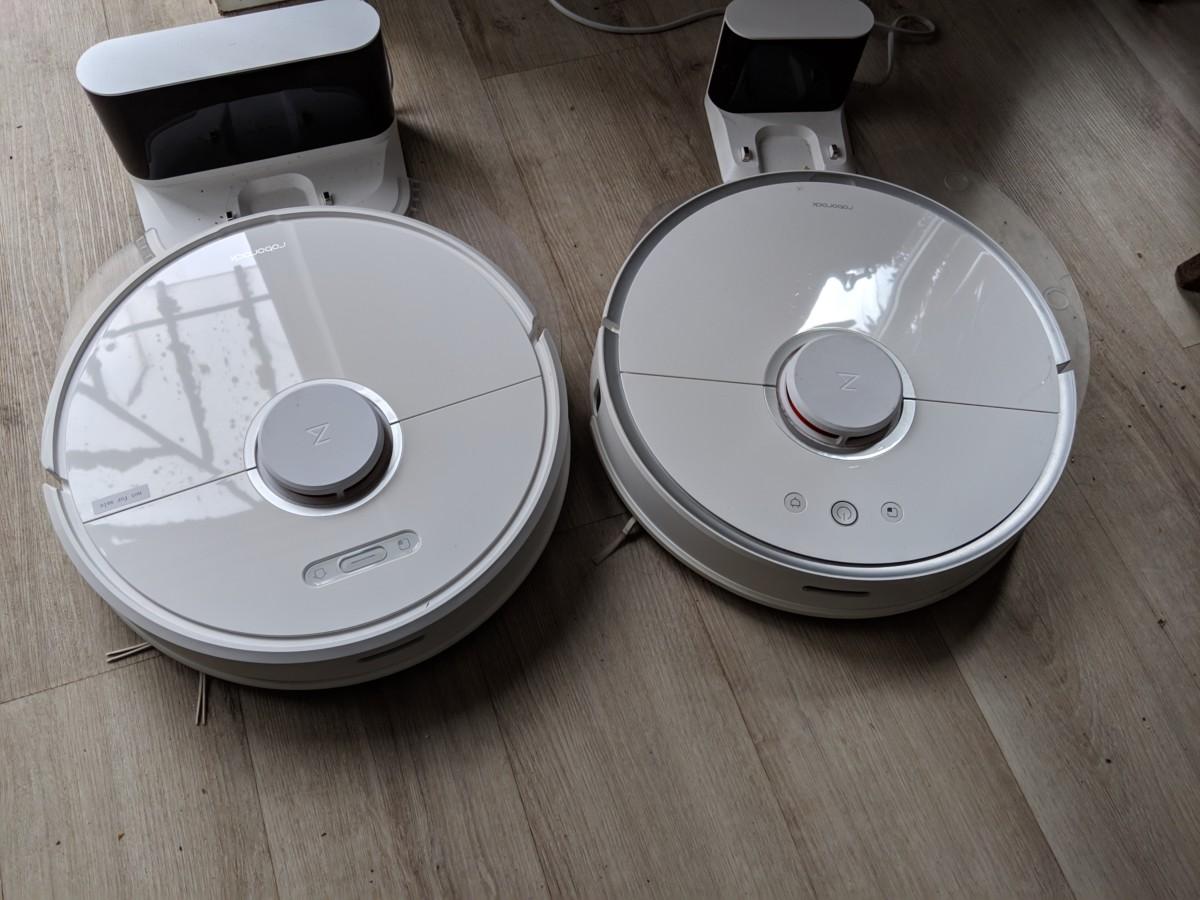 Le S6 à gauche, le S5 à droite