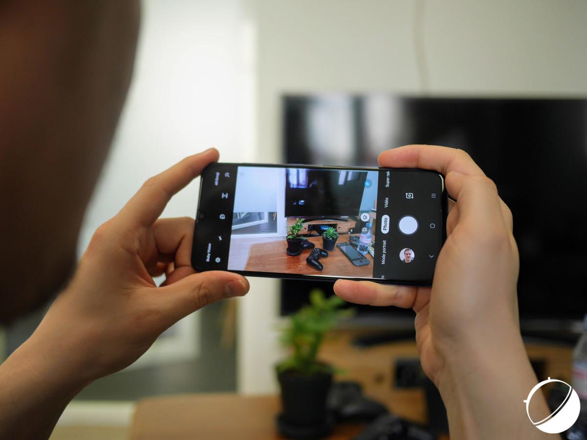L'application photo du Samsung Galaxy A70