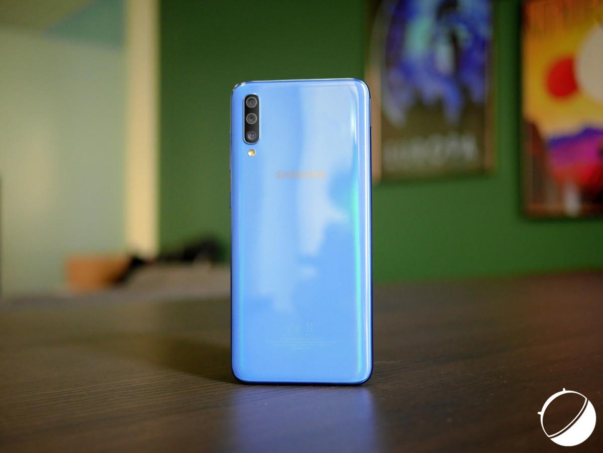 Le dos du Samsung Galaxy A70