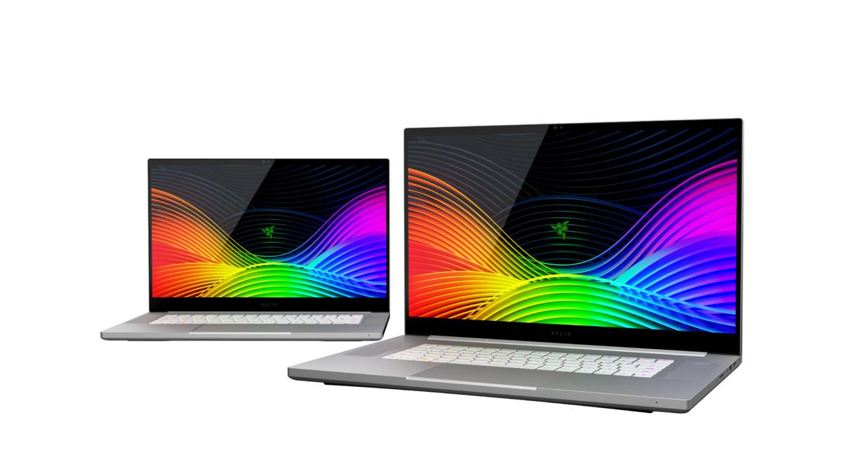 Razer Blade Pro 17 Studio Edition et son écran 4K HDR OLED, il peut également être configuré avec une Quadro RTX