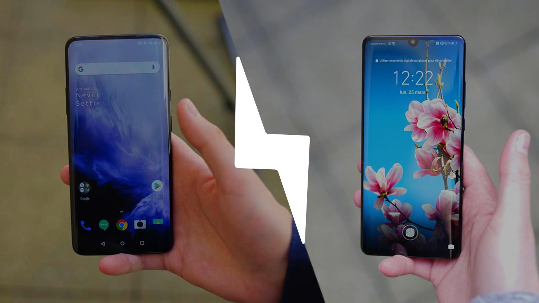 OnePlus 7 Pro vs Huawei P30 Pro : lequel est le meilleur smartphone ? – Comparatif