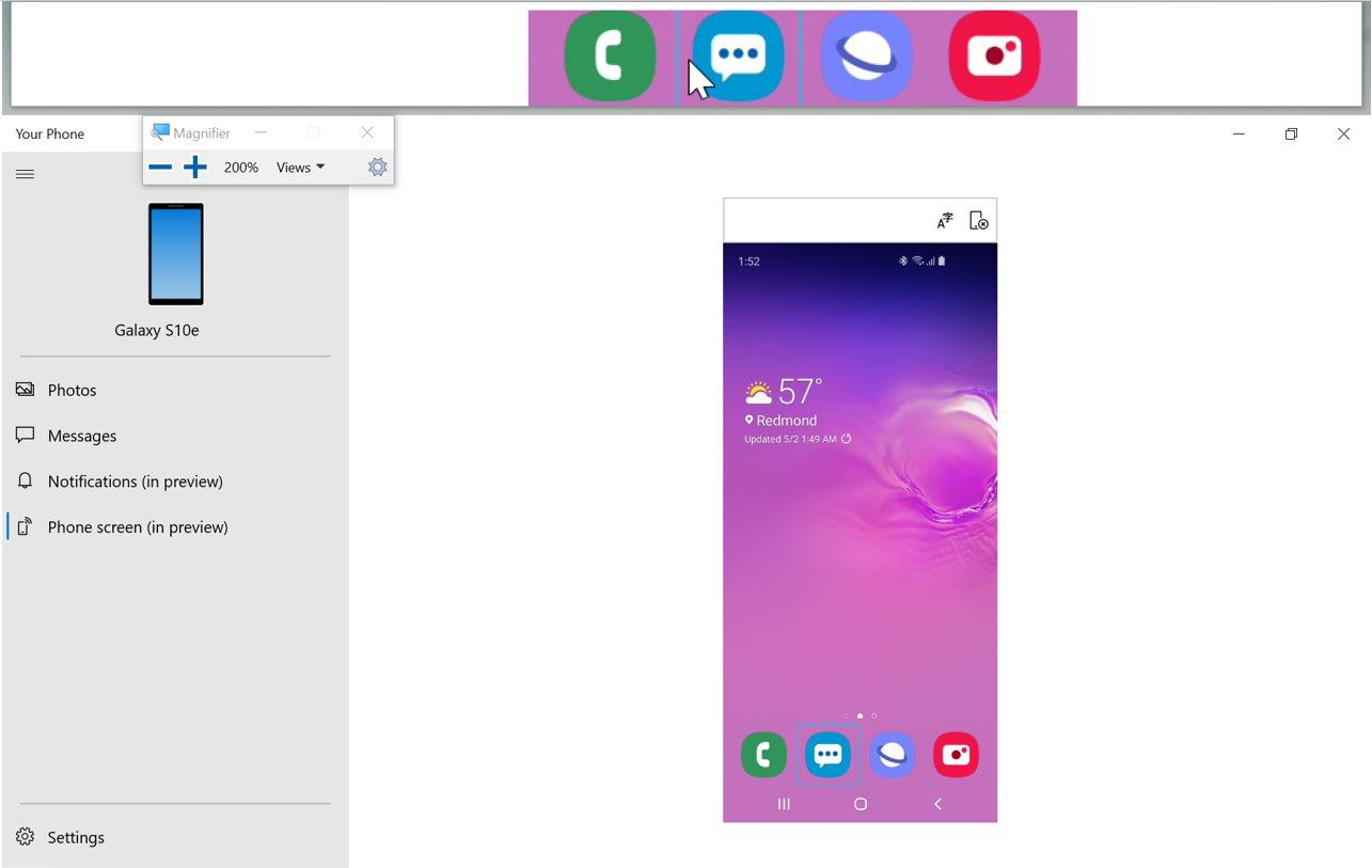 La synchronisation Android – Windows 10 fait le plein de nouveautés en beta