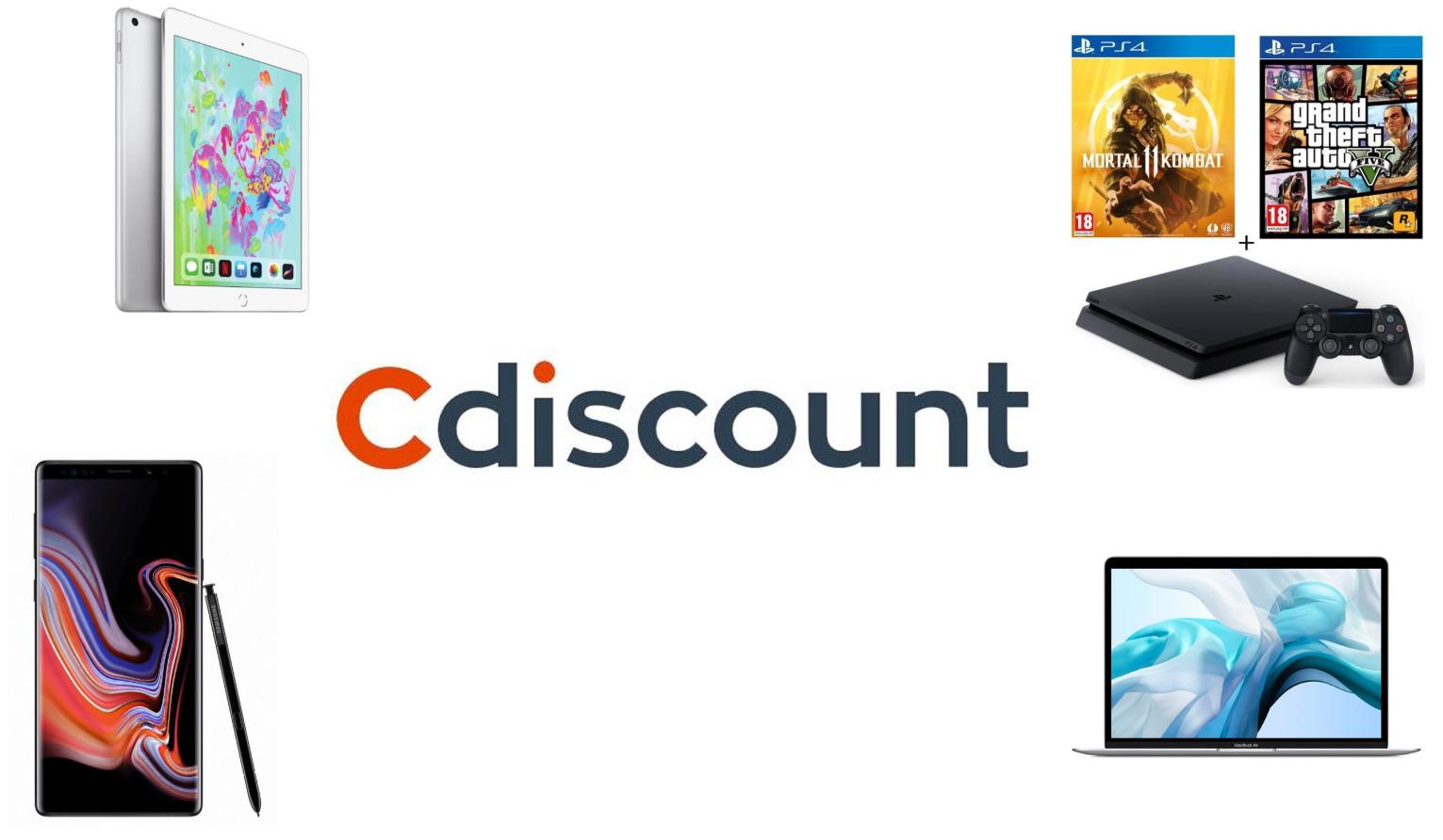 09884e3f36ea Smartphone, tablette, objets connectés ou encore accessoires, retrouvez  notre sélection des meilleures offres des Soldes d'été 2019 sur Cdiscount.
