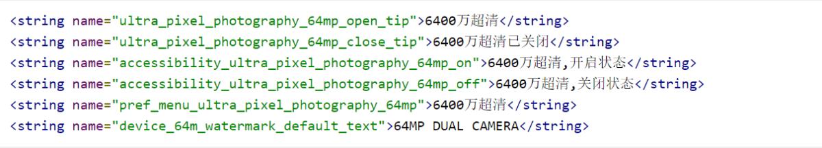Xiaomi intégrera un capteur de 64 mégapixels dans un smartphone, des preuves le confirment