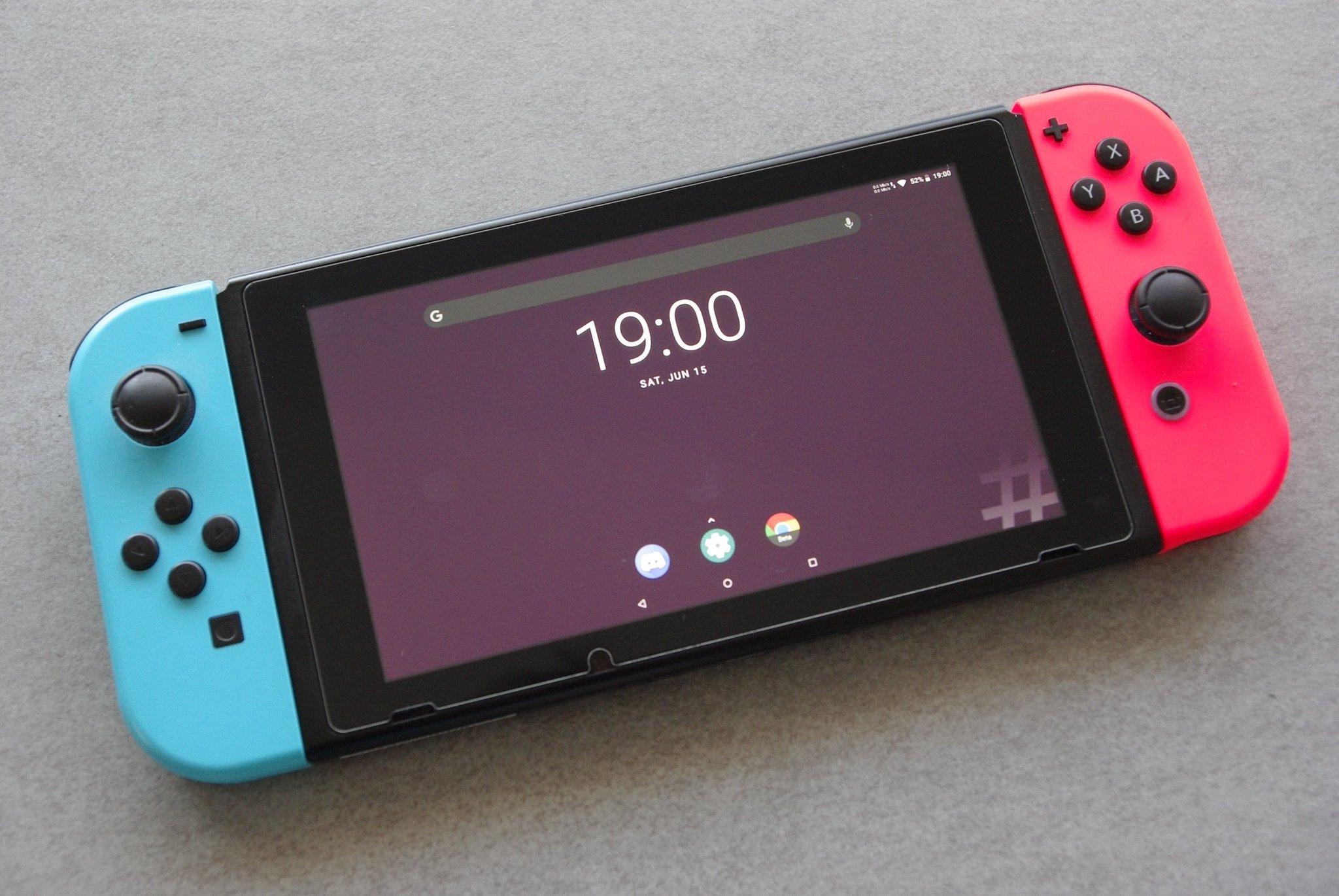 La Nintendo Switch peut désormais tourner sous Android 10 - Frandroid