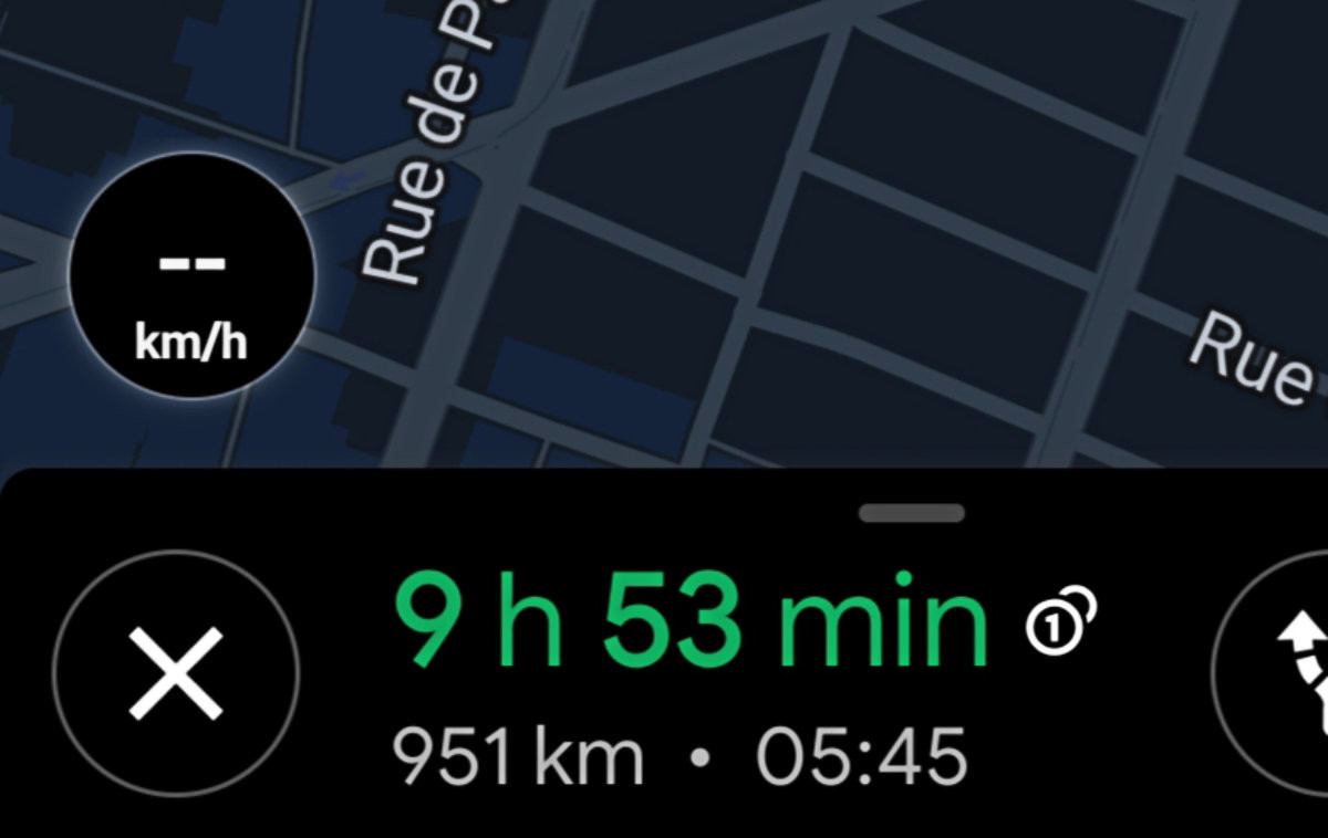 Google Maps: Finally a real-time speedometer