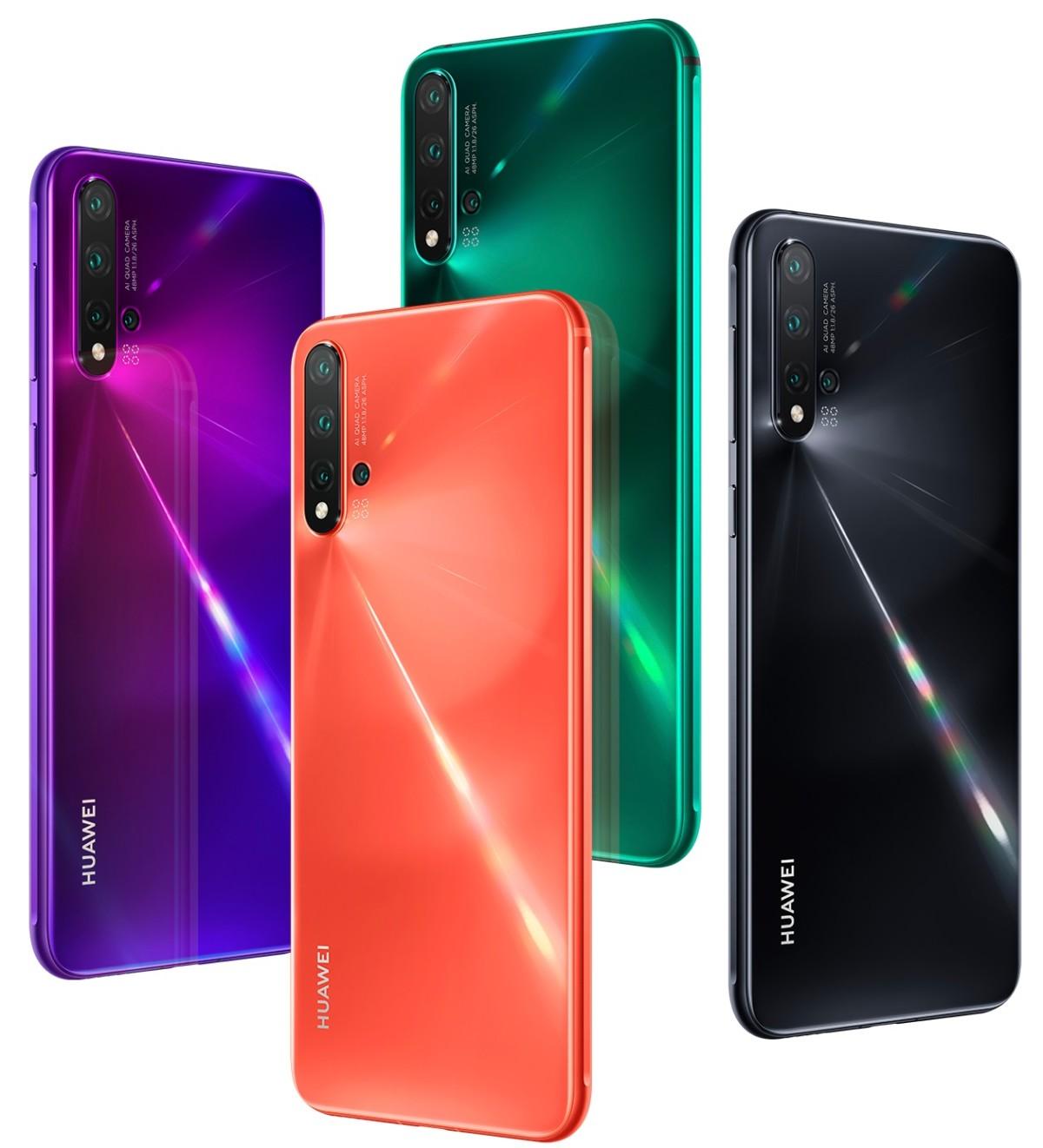 Le Huawei Nova 5 Pro
