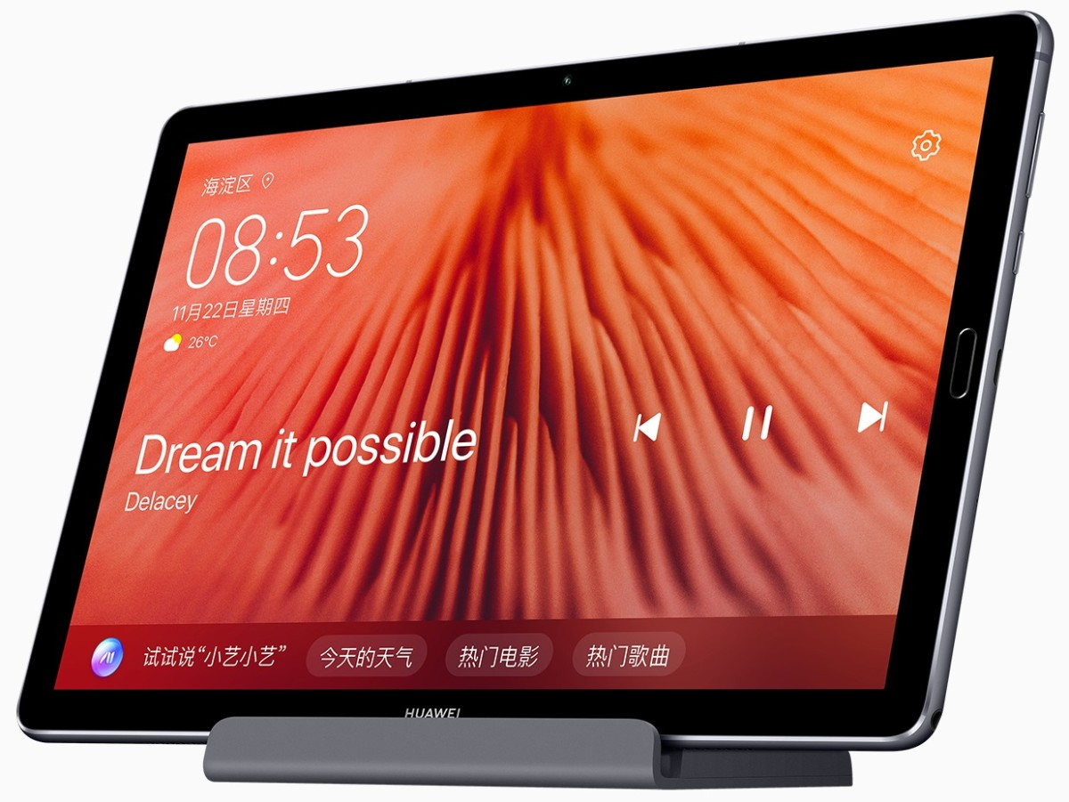 La tablette Huawei MediaPad M6 10.8