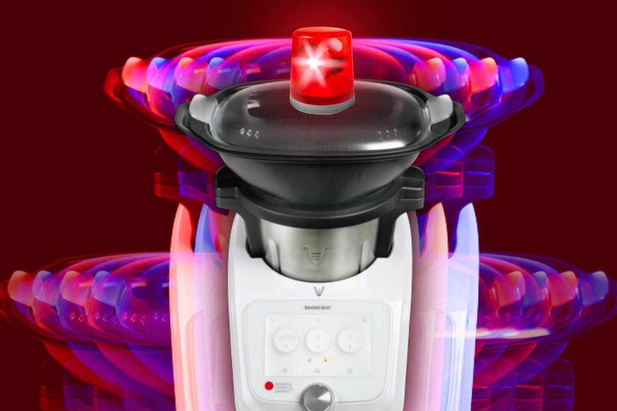 Le robot Monsieur Cuisine Connect de SilverCrest