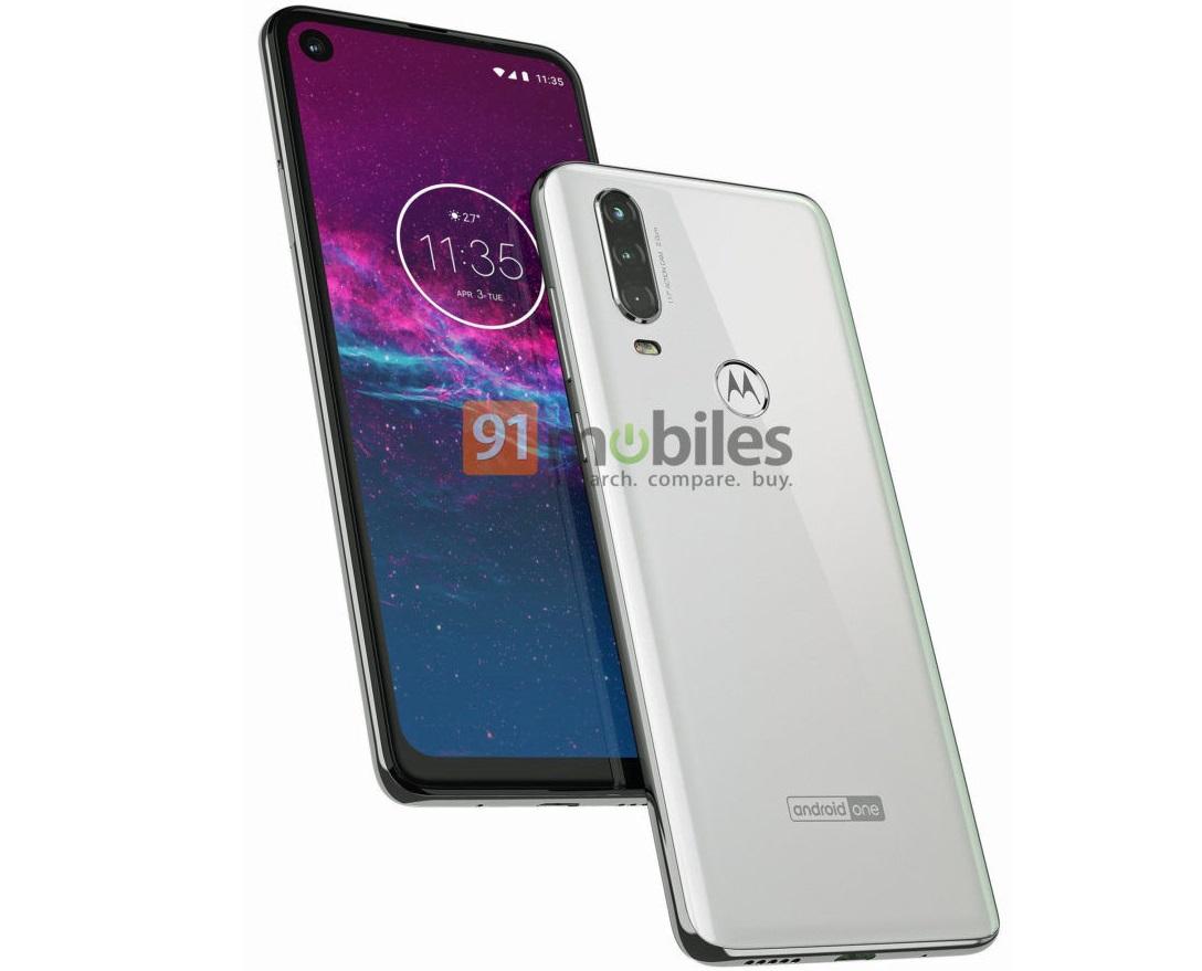 Motorola One Action : un smartphone à écran percé et à caméra d'action