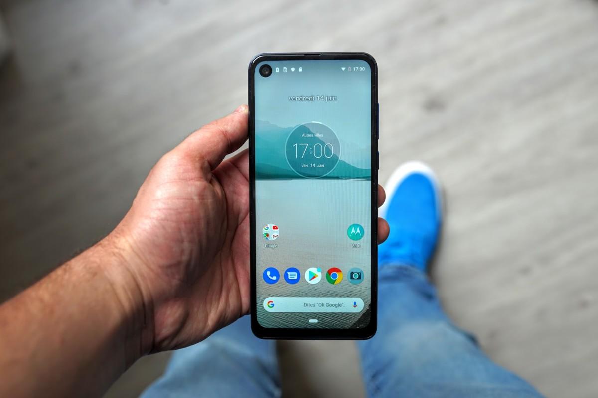 Test du Motorola One Vision : un point de vue original