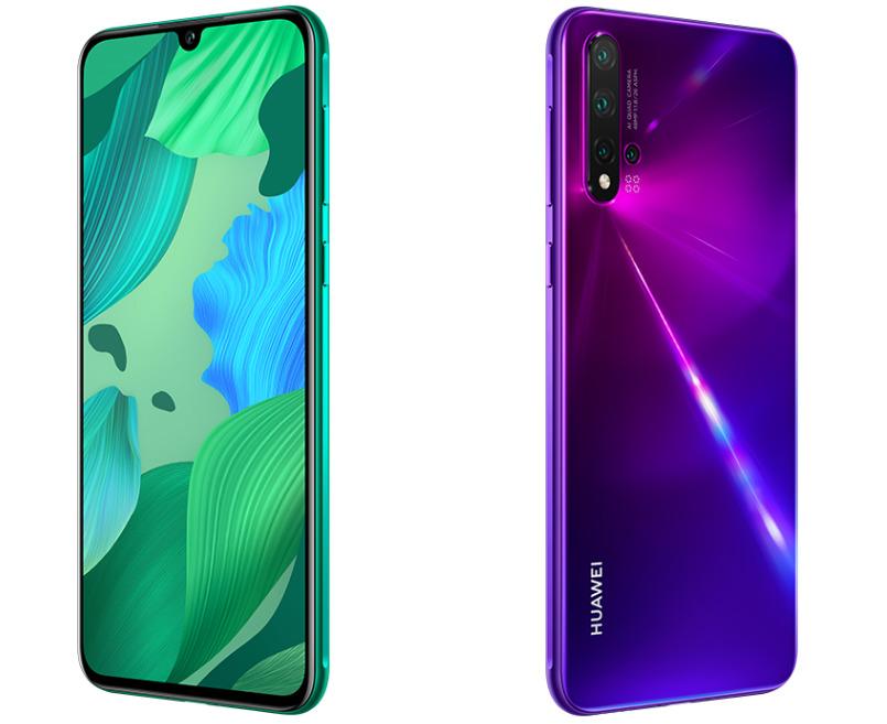 Le Huawei Nova 5 reprend le même design que le Nova 5 Pro