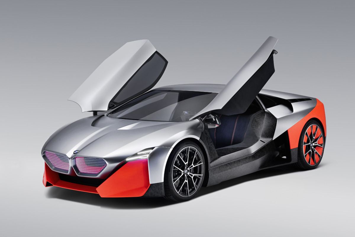 BMW Vision M NEXT : un concept sportif et électrique pour définir le futur de la marque