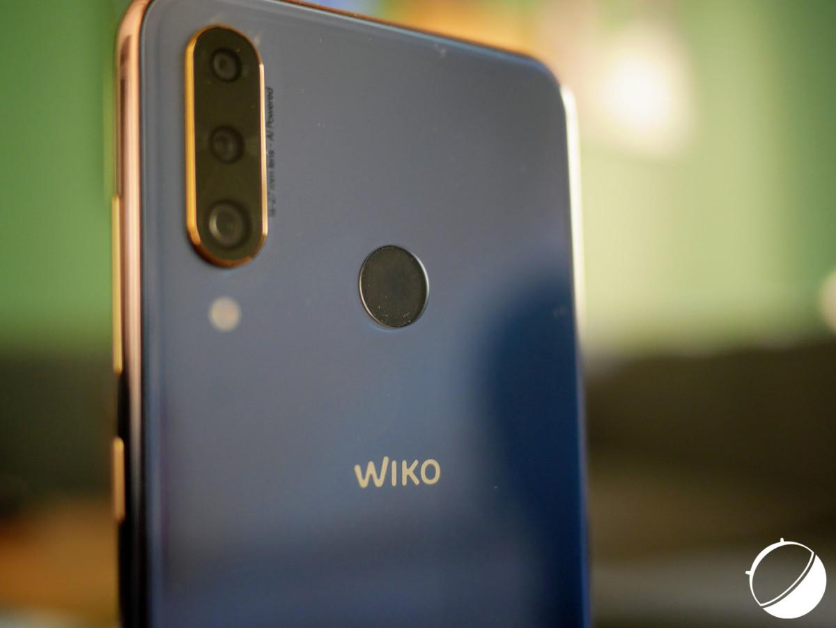 Le capteur d'empreintes du Wiko View 3 Pro