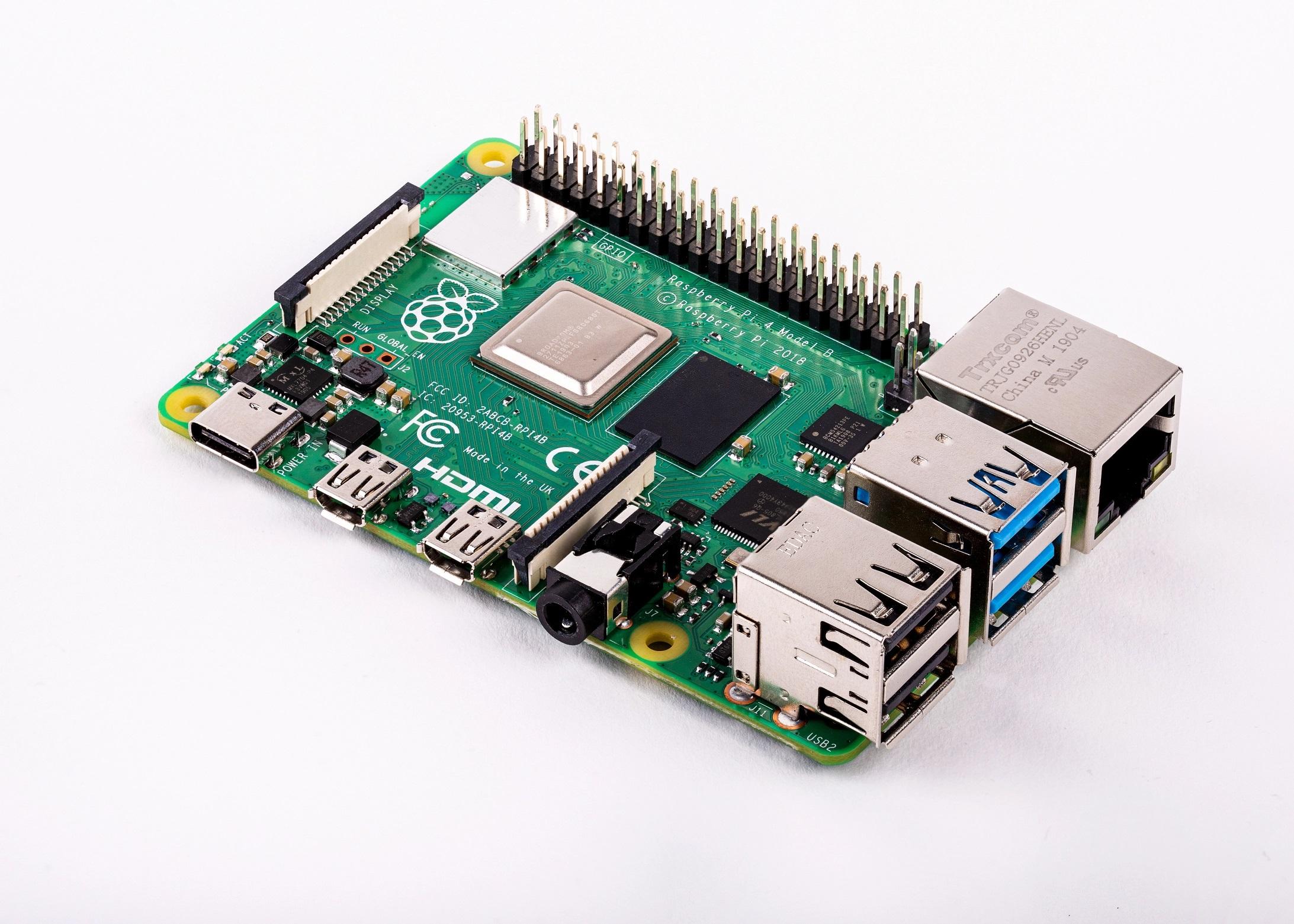 Raspberry Pi 4 : trois fois plus performante et plus polyvalent pour 38 euros