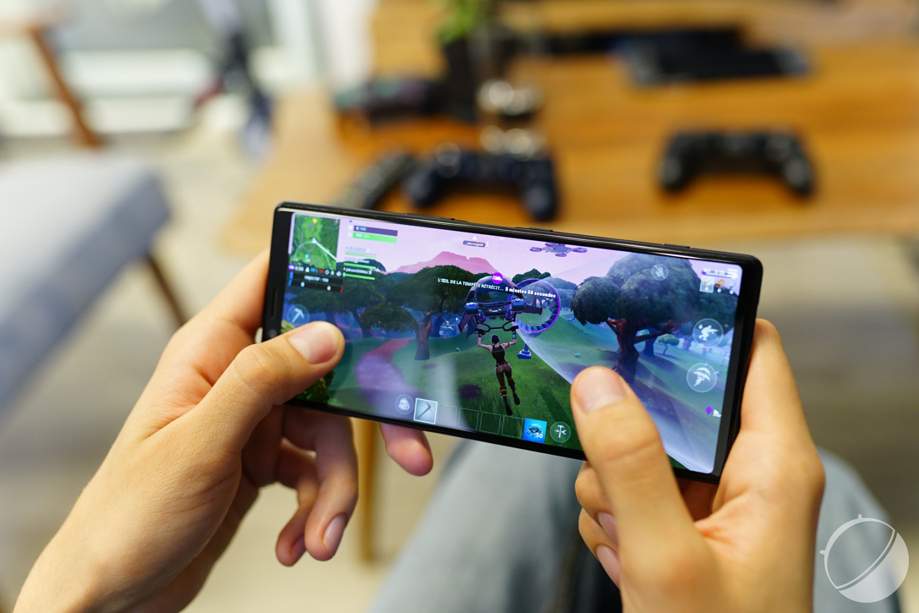 Le Xperia 1 permet de jouer à Fortnite dans de bonnes conditions