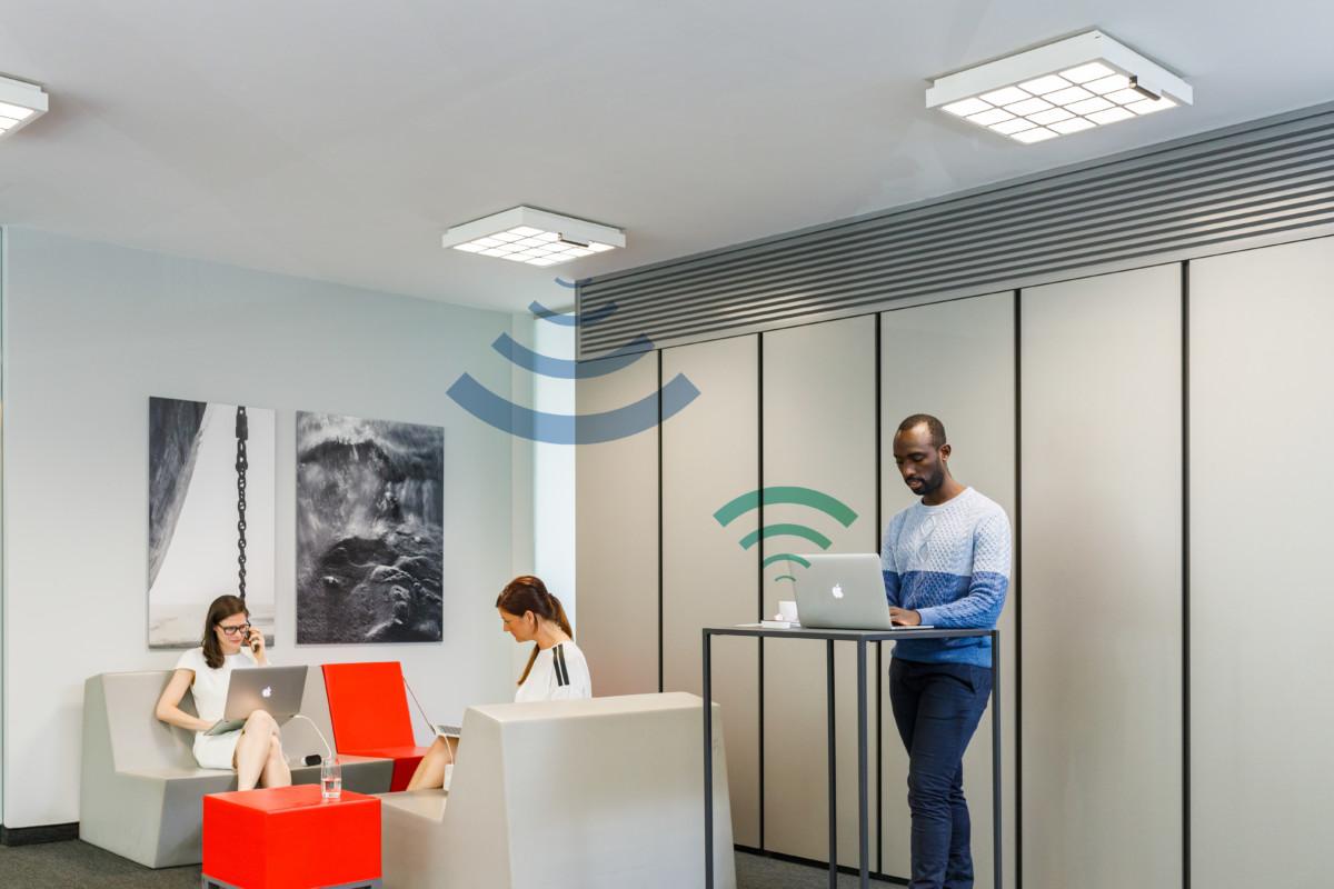 Trulifi : le fabricant des Philips Hue se lance dans le Li-Fi jusqu'à 250 Mbps