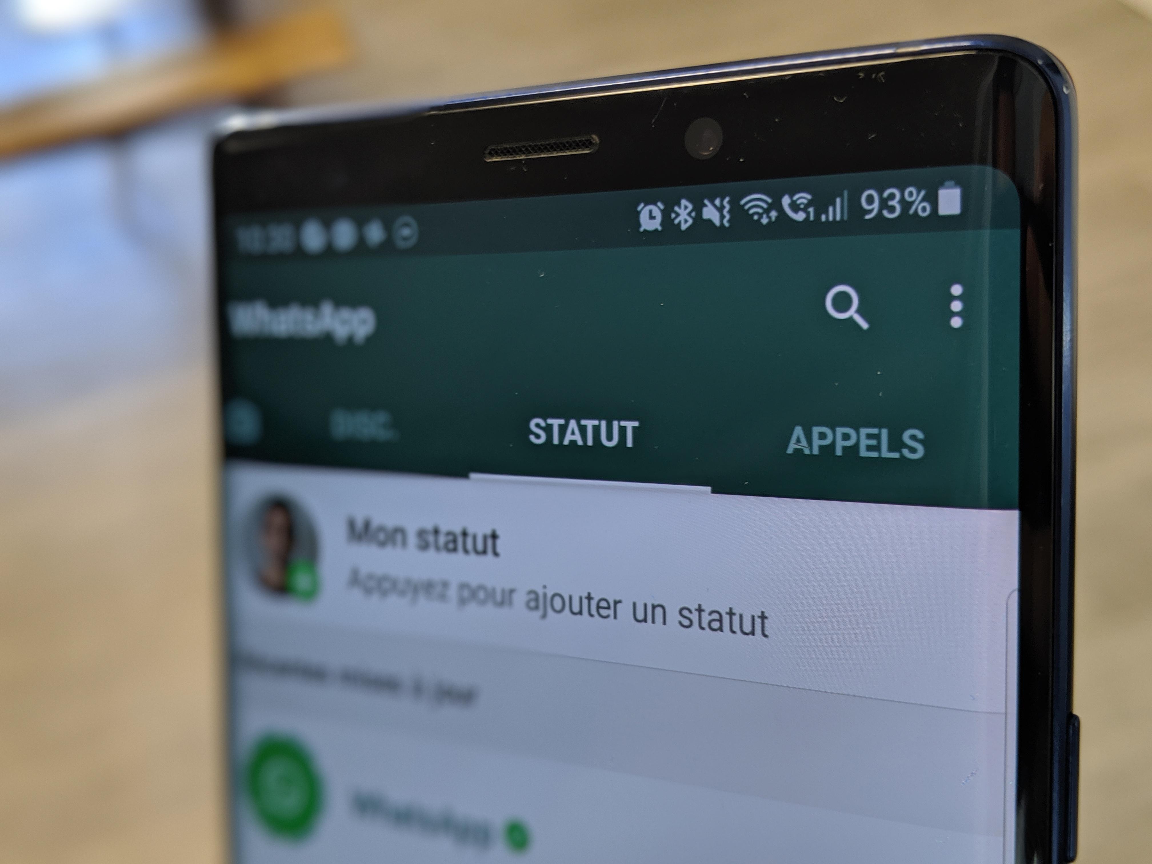 Clap de fin pour d'anciennes versions d'Android, iOS et Windows Phone — WhatsApp