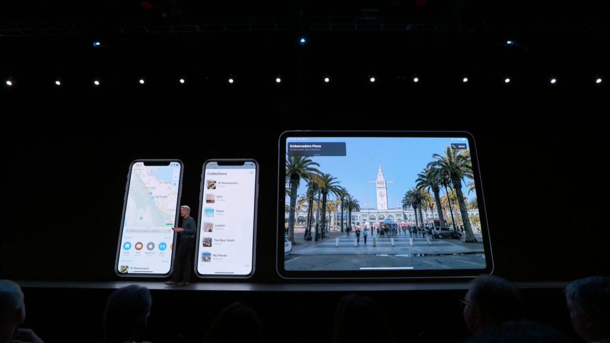 Apple à deux doigts d'inventer Google Street View