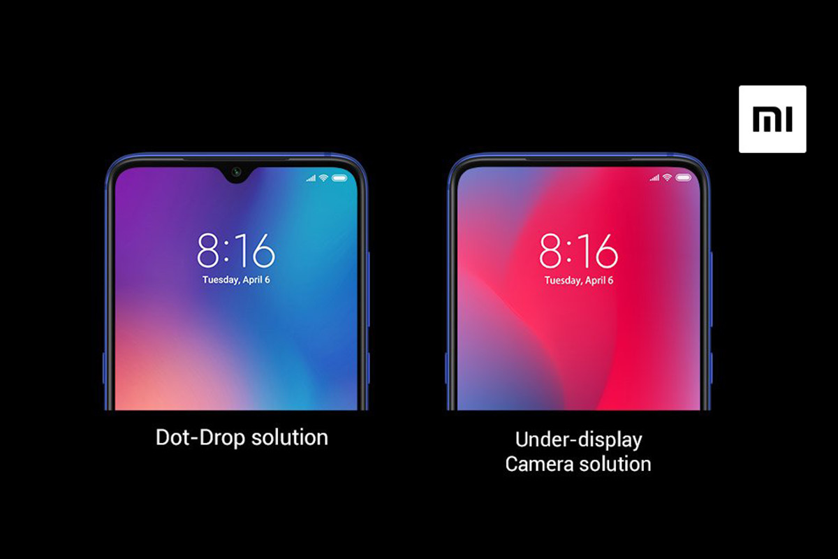 Xiaomi et le capteur photo dans l'écran : comment ça fonctionne