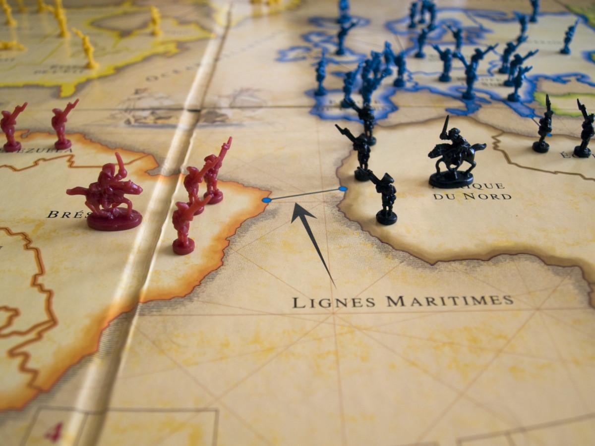 Une partie de Risk (crédits image : hellolapomme sur Flickr).