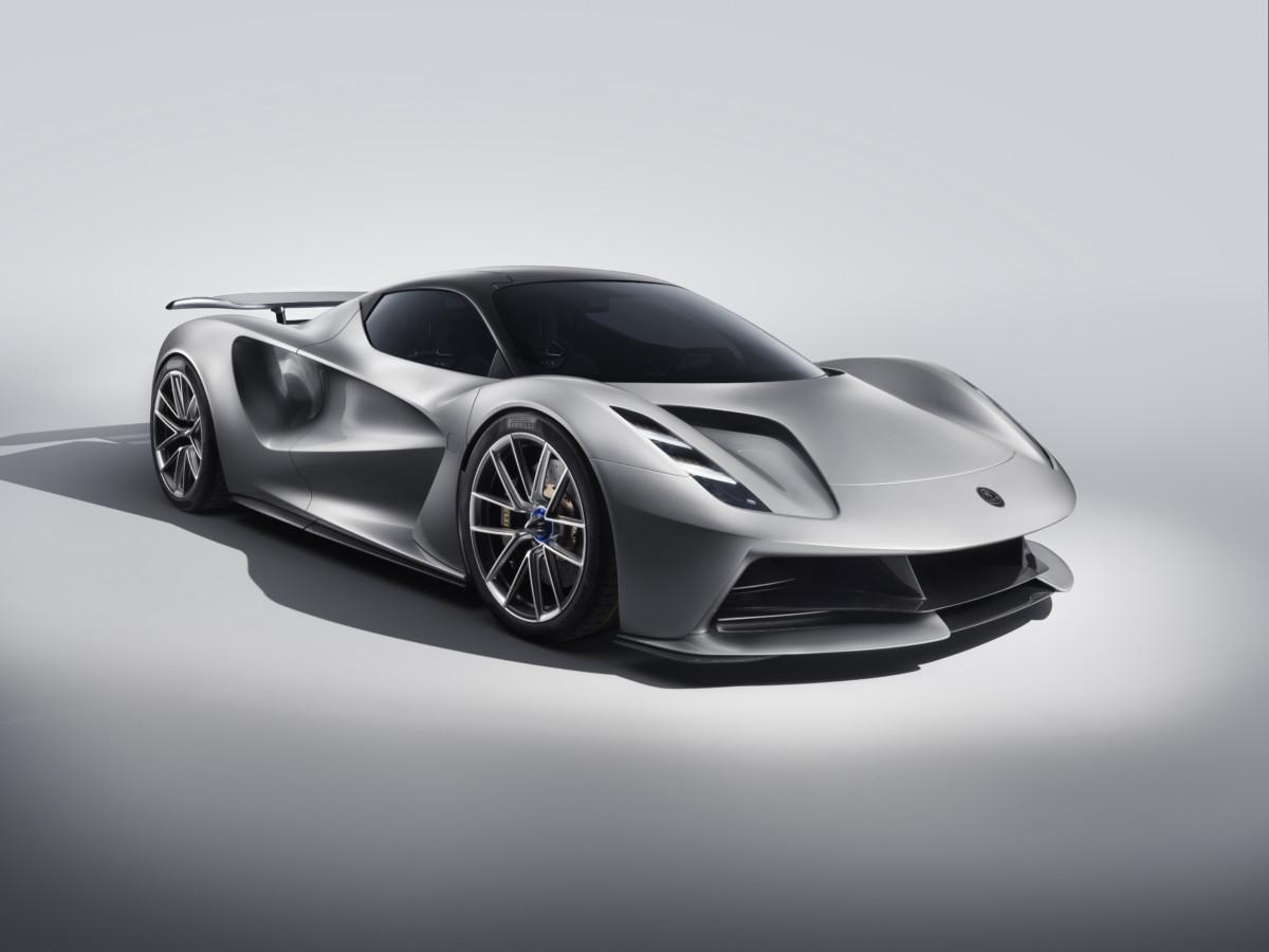 La Lotus Evija, prochaine hypercar électrique de la marque britannique