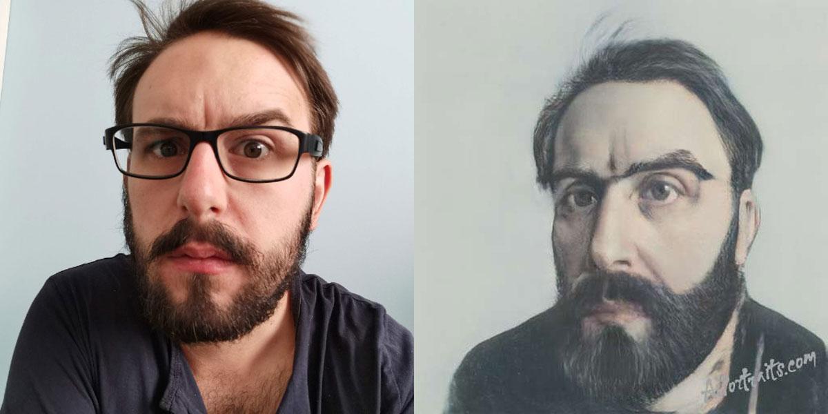 Transformez vos selfies en sublimes peintures de la Renaissance