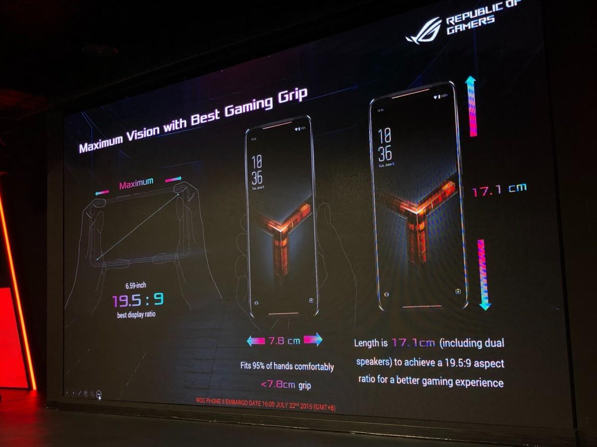 Asus ROG Phone II officialisé : écran 120 Hz HDR10 et Snapdragon 855+ pour monstre de puissance