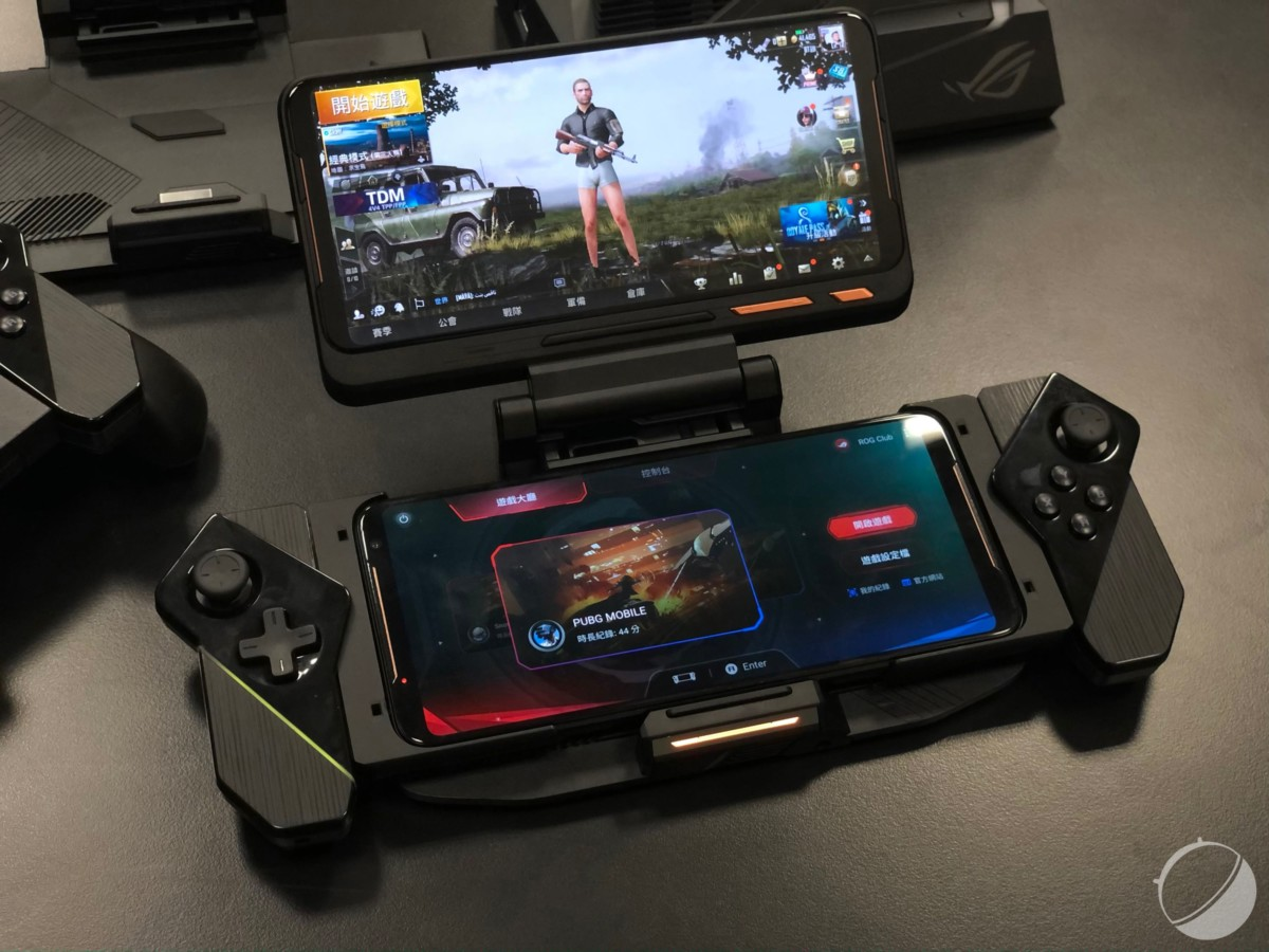 Le Asus ROG Phone II, destiné au jeu vidéo.