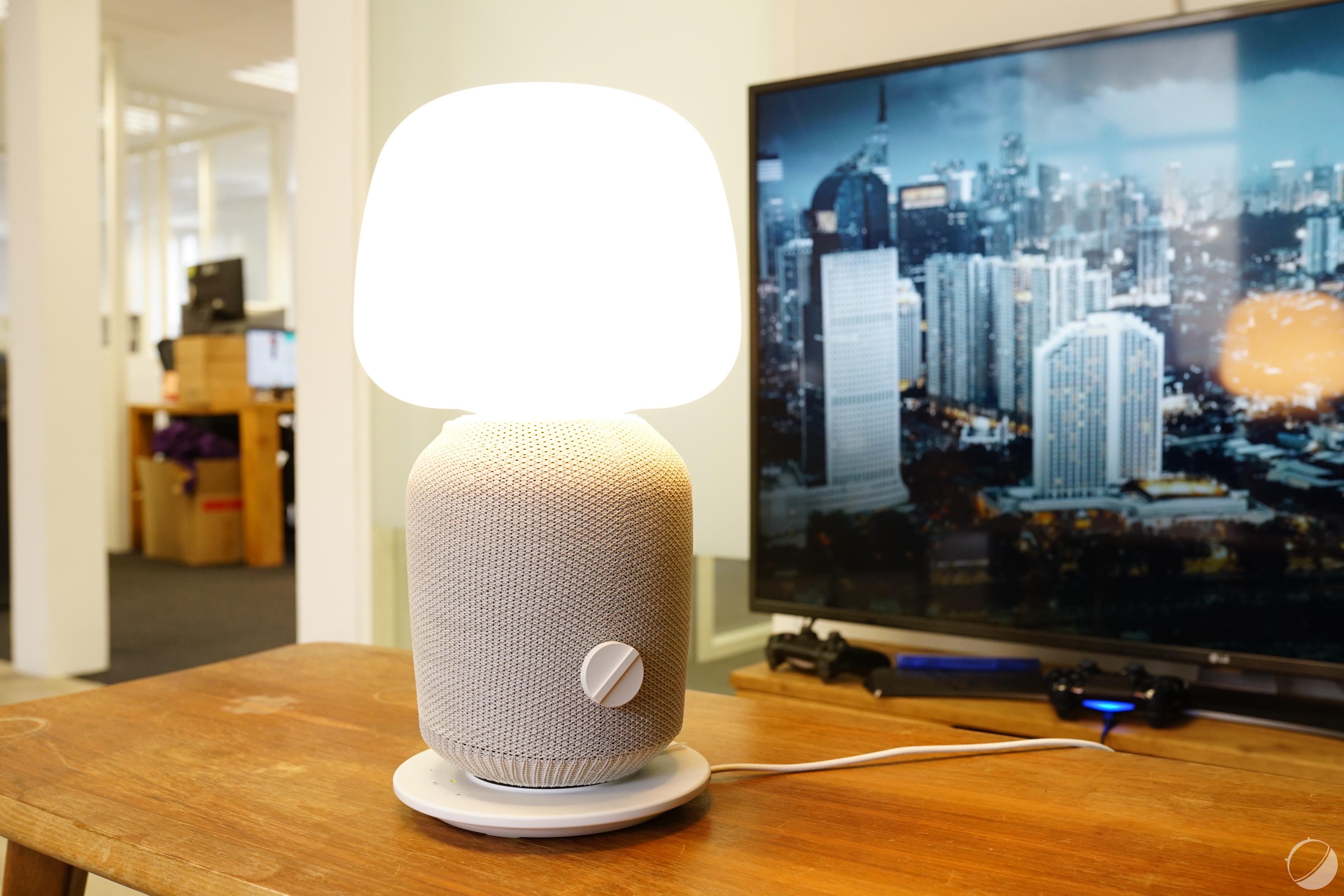 Test Sonos Ikea Symfonisk Lampe De Table Notre Avis