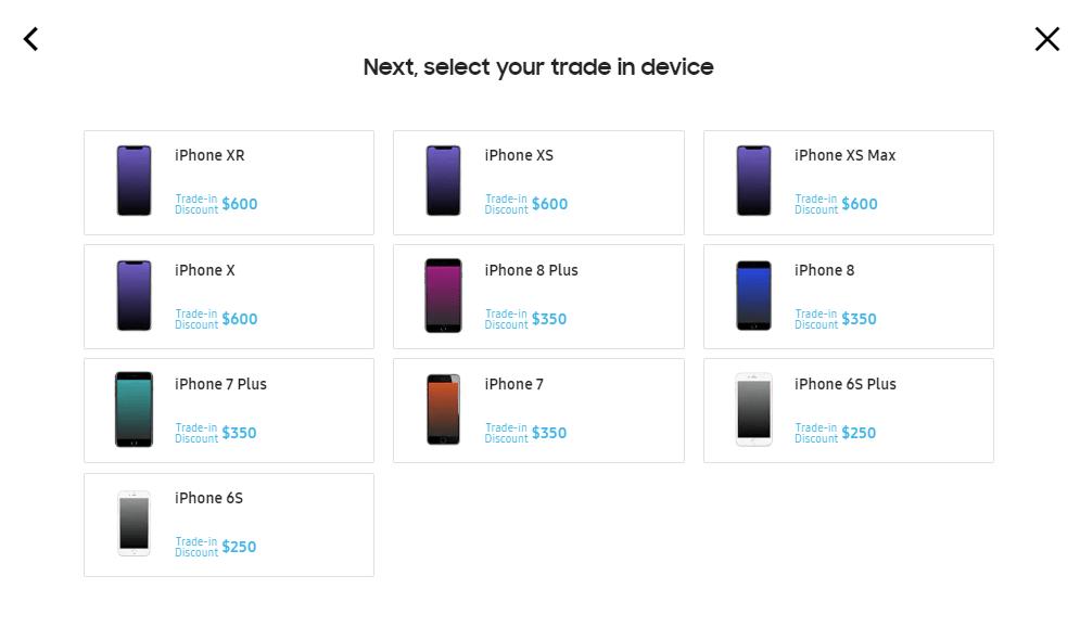 Un iPhone contre un Galaxy Note 10 : l'offre de Samsung qu'on aimerait voir arriver en France