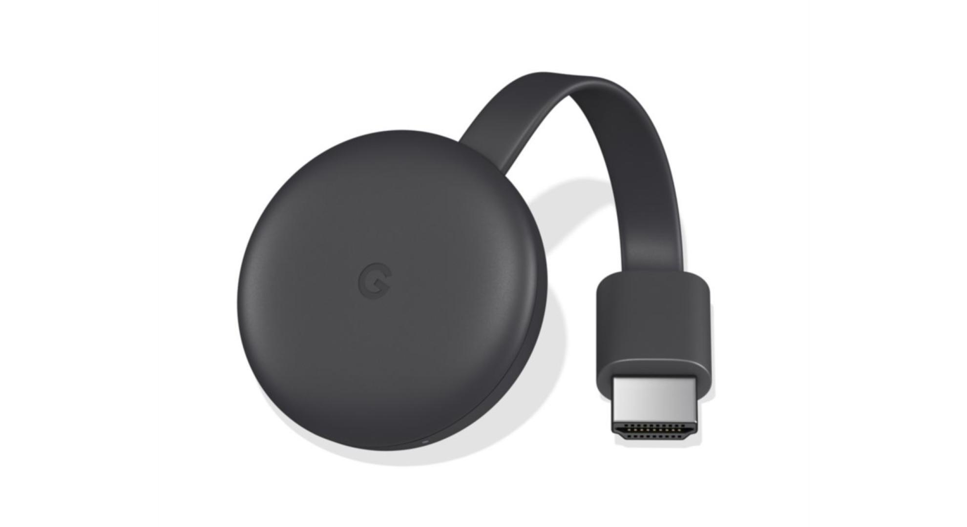 Rarement en promotion, le Google Chromecast 3 baisse son prix à 34 euros