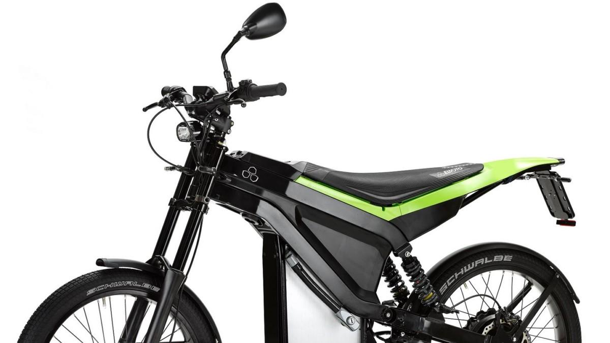 El Moto Loop : près de 100 km d'autonomie pour ce scooter électrique au look de vélo