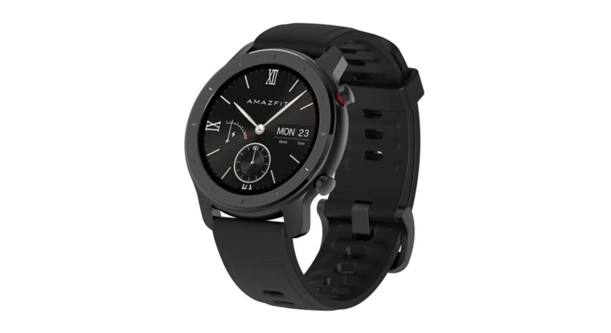 Huami Amazfit GTR : la montre connectée de Xiaomi descend à 113 euros (modèle 42 mm)