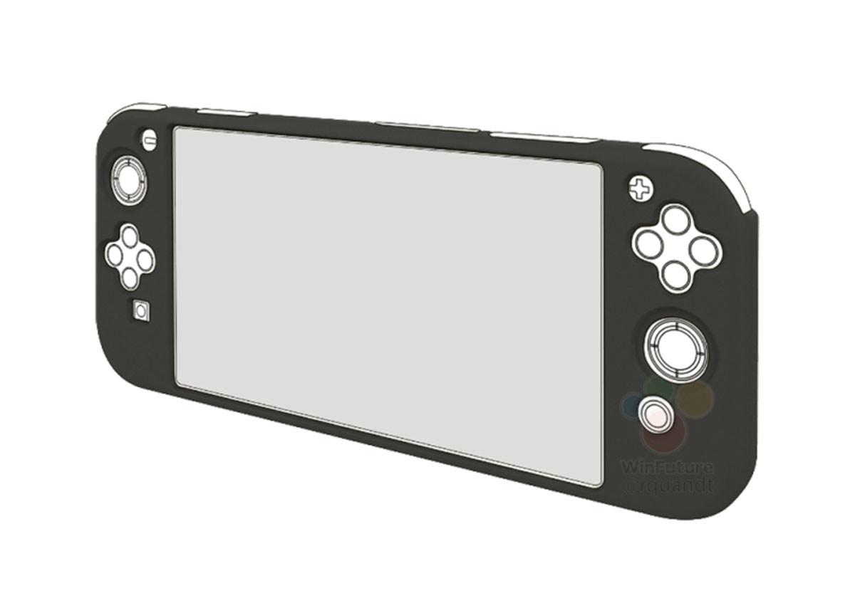 Nintendo Mini Switch 2 : le design de la console se précise